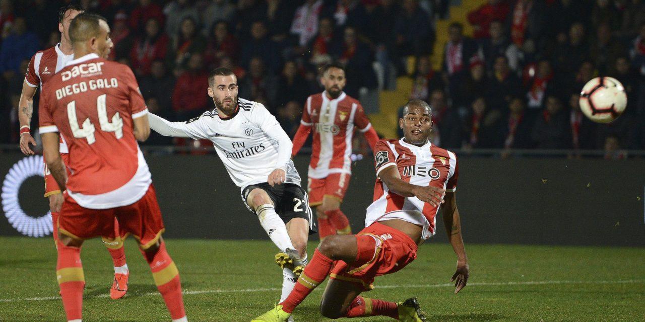 Aves perdeu com o Benfica c/video