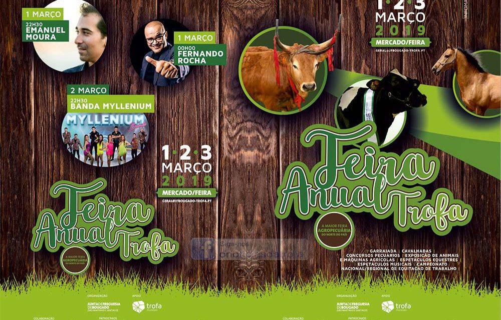 Feira Anual da Trofa de 1 a 3 de março