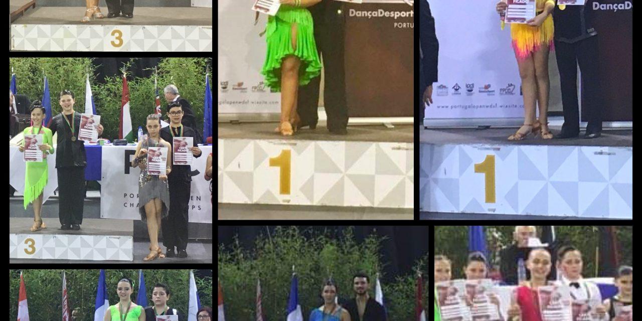 Dois pares da Gindança campeões nacionais de 10 Danças