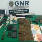 Detidos com 8.500 doses de droga pela GNR de Santo Tirso