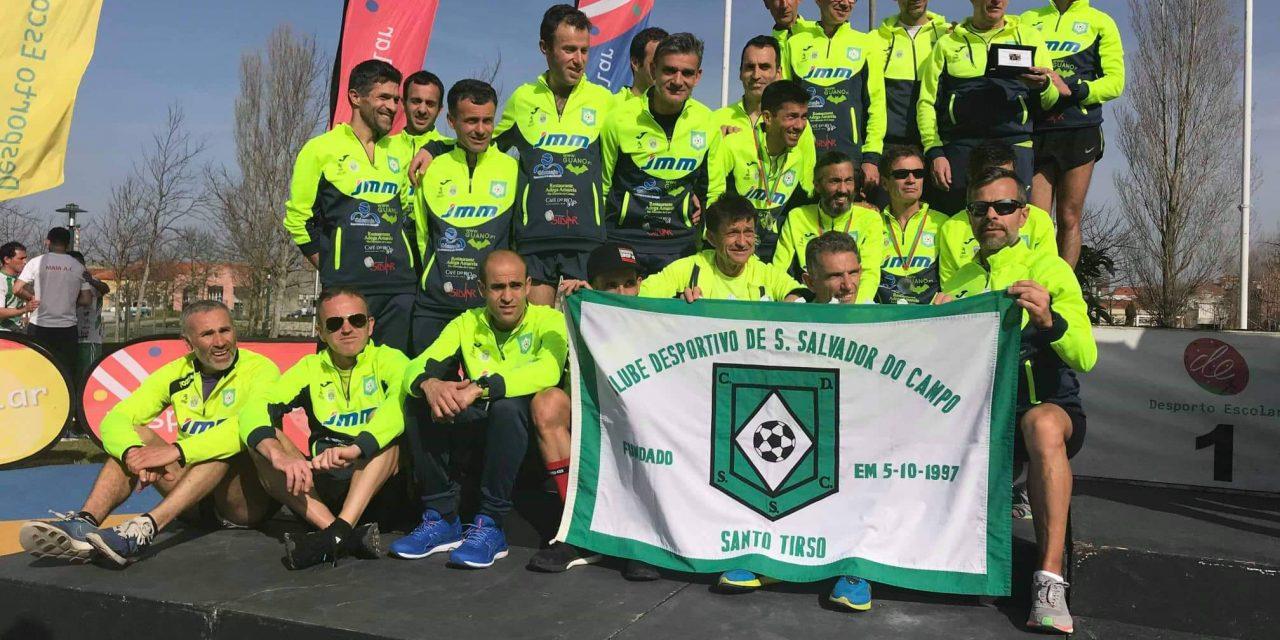 CD S. Salvador do Campo vice-campeão nacional de corta-mato curto em veteranos