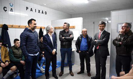 União Desportiva de Calendário com instalações renovadas