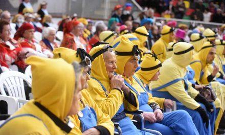 Carnaval Sénior com cerca de um milhar de participantesSeniores de Famalicão mostram que a folia não tem idade