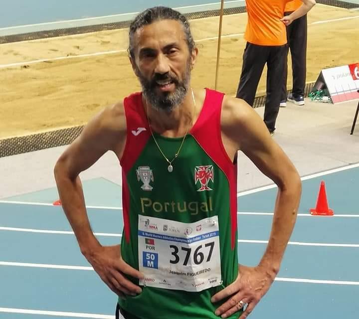 Joaquim Figueiredo campeão nacional de 10 mil metros