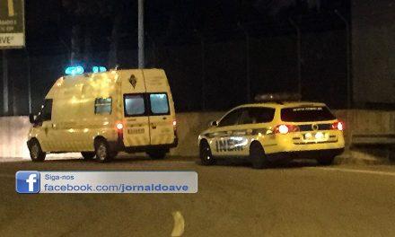 Motociclista ferido com gravidade em Santo Tirso