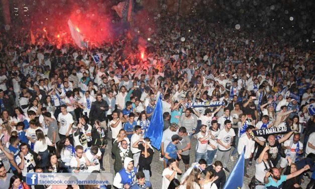 Famalicão volta à I Liga 25 anos depois (c/video)