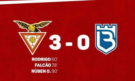 Desportivo das Aves vence Belenenses e fica mais perto da manutenção