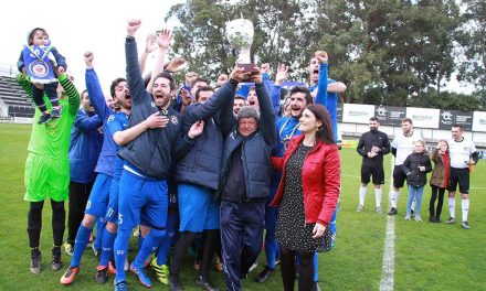 A festa da Taça Concelhia de futebol de Santo Tirso em fotos