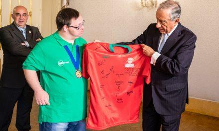 Presidente da República recebeu Seleção Nacional de Futsal para Atletas com Síndrome de Down