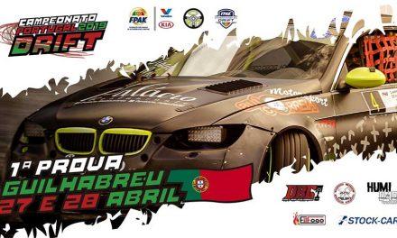 Pista de Guilhabreu recebe 1.ª prova do Campeonato de Portugal de Drift