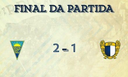 Famalicão perdeu na deslocação ao Estoril Praia