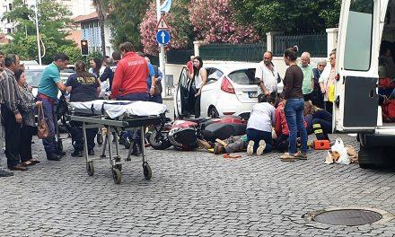 Atropelamento em Santo Tirso