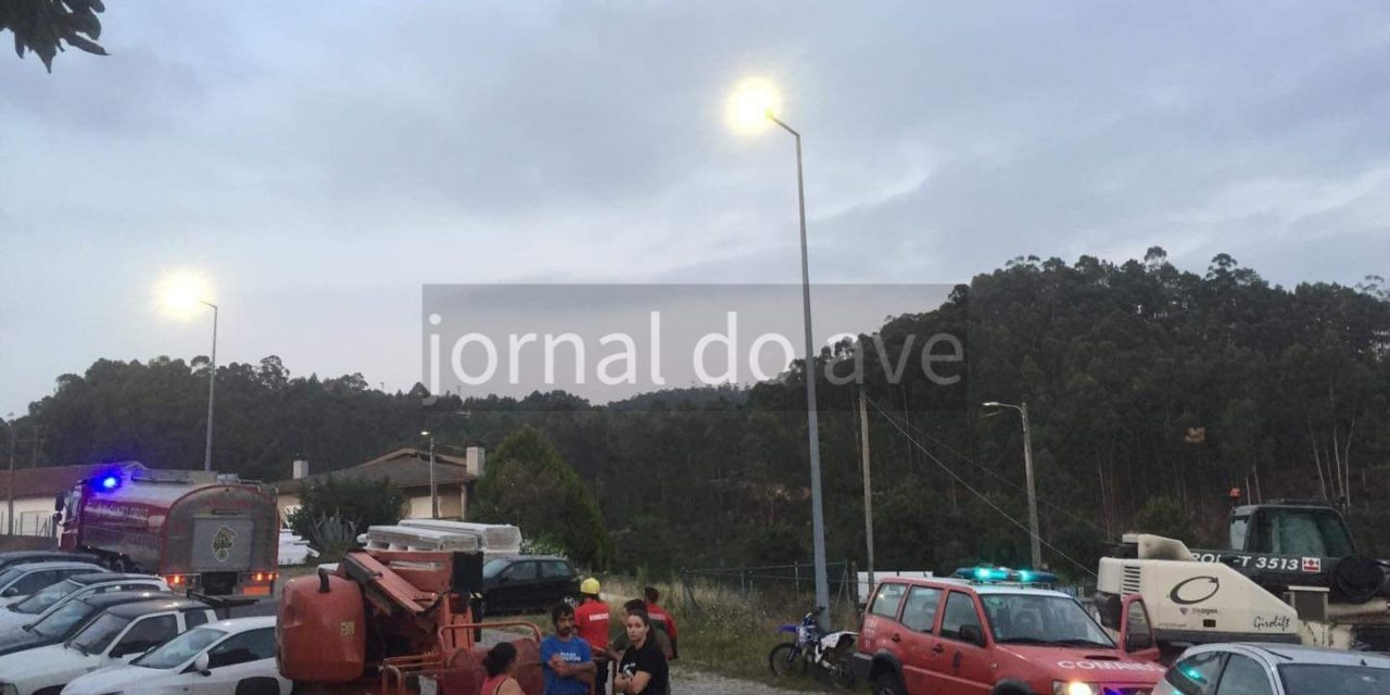 Explosão de gás causa ferido na Reguenga