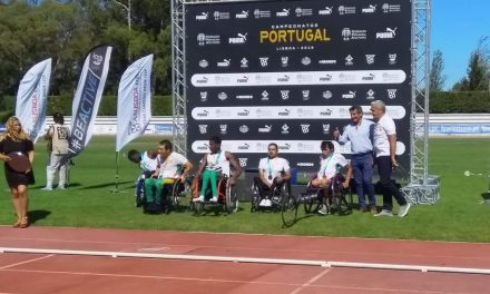 João Correia campeão de Portugal