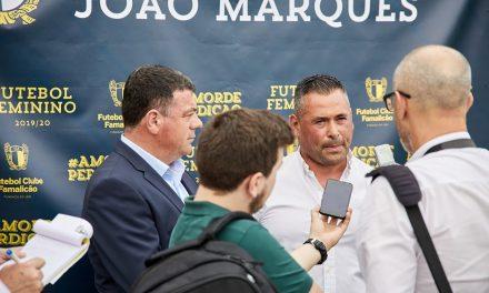 João Marques é o treinador da equipa feminina do FC Famalicão