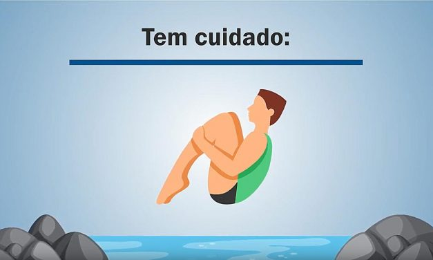 Mergulhos podem causar lesões permanentes na coluna vertebral