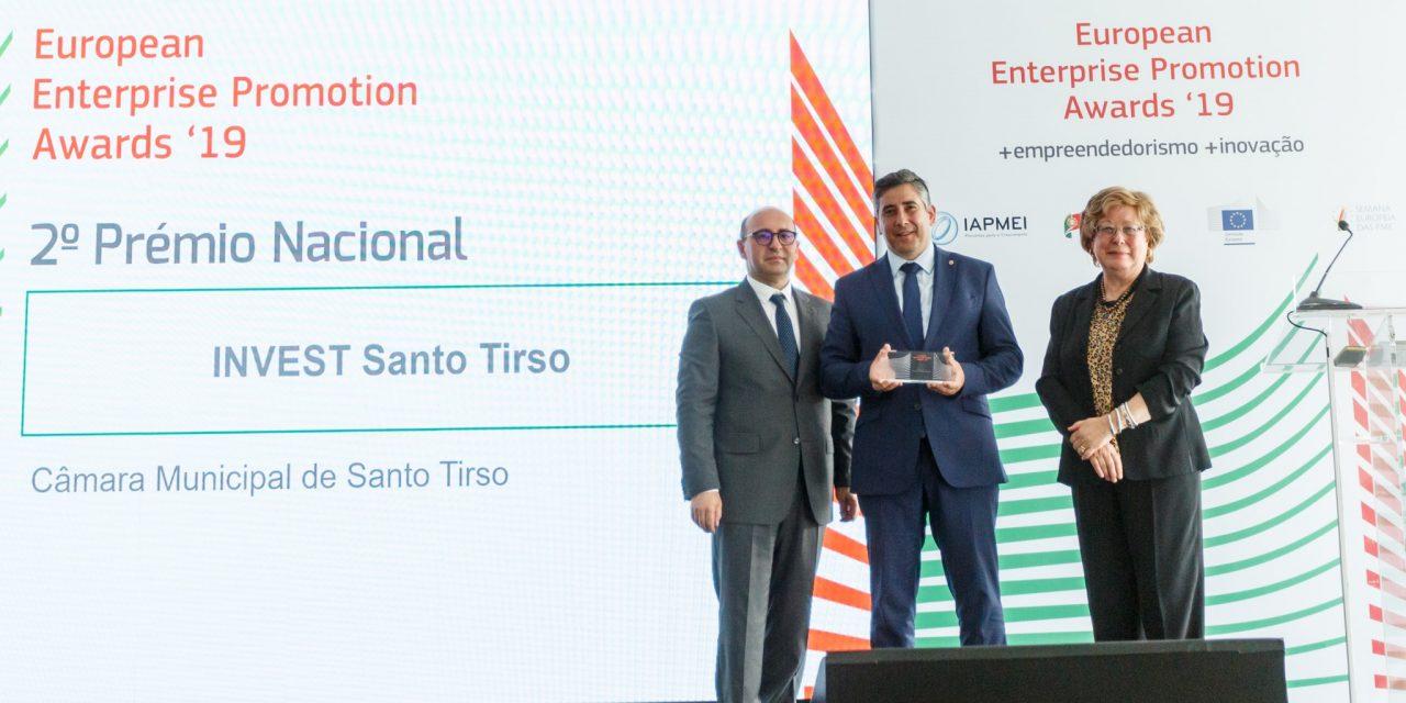 Santo Tirso conquista 2º lugar nos Prémios Europeus de Promoção Empresarial