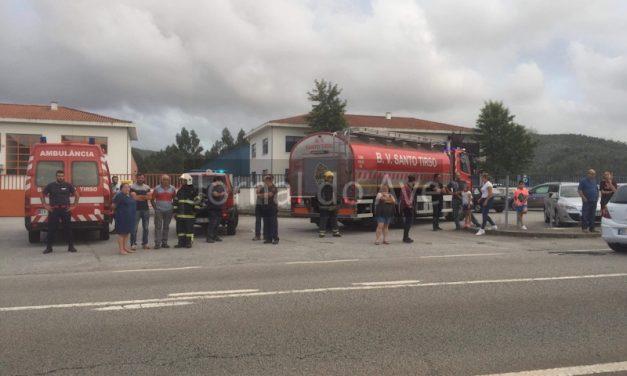 Judiciaria investiga incêndio combatido pelos BV Santo Tirso
