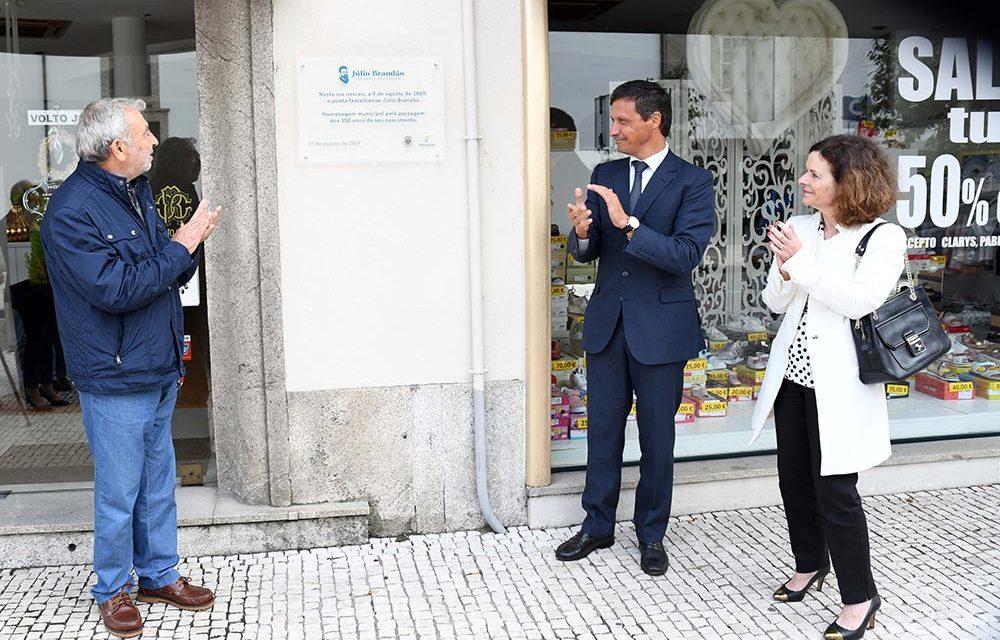 Arrancaram as comemorações dos 150 anos do nascimento de Júlio Brandão