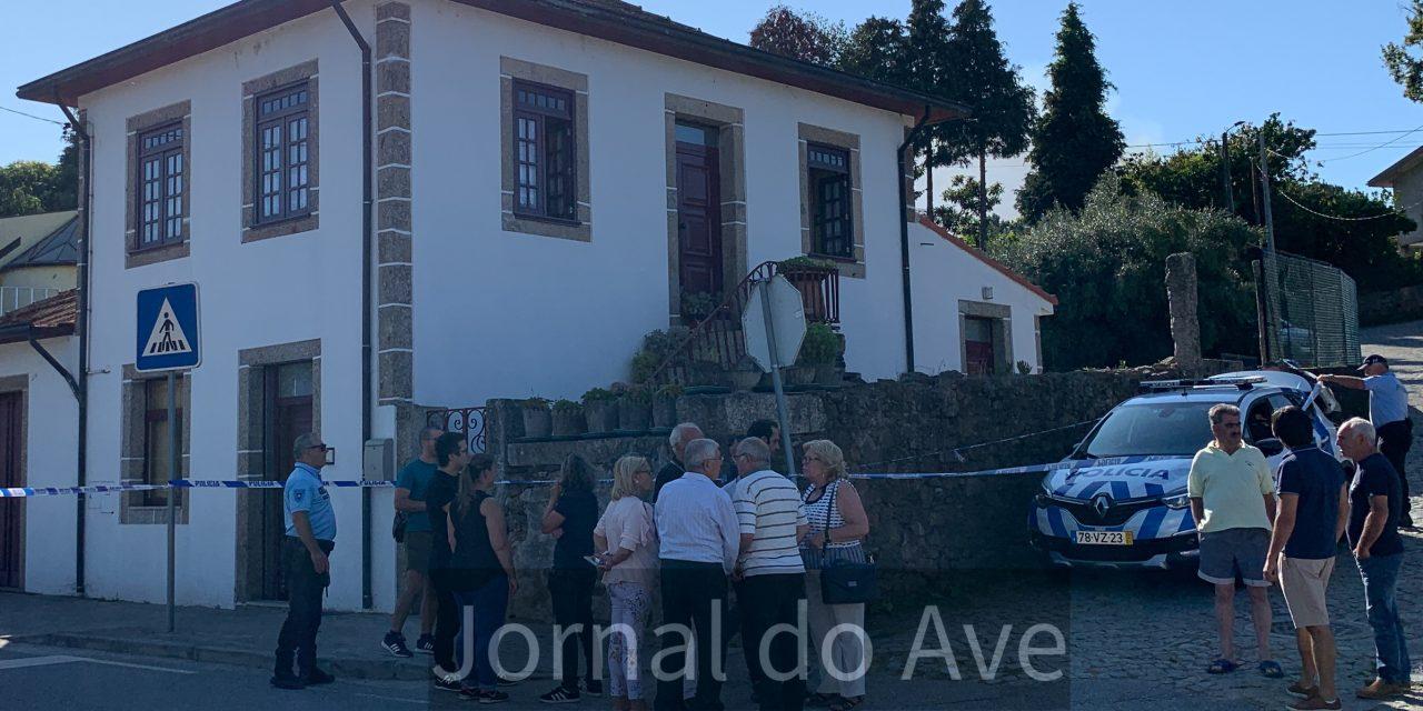Mulher assassinada em Santa Cristina do Couto (c/video)