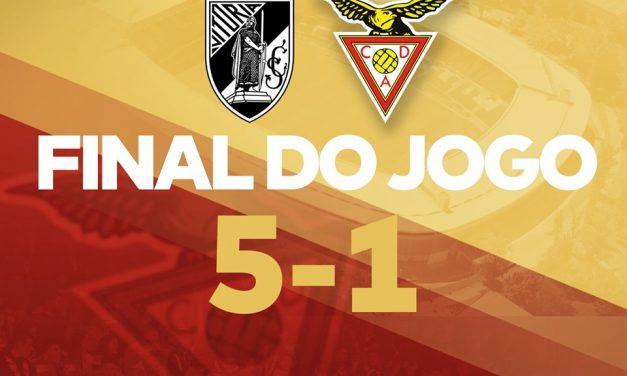 Video Aves perdeu em Guimarães