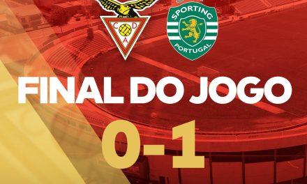 Aves perdeu em casa com o Sporting (c/vídeo)