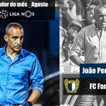 Treinador do Famalicão foi o melhor treinador do mês de agosto
