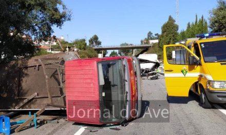 Ferido grave em acidente na variante de Santo Tirso