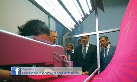 Ministro da Economia inaugura  investimento em Água Longa (c/video)