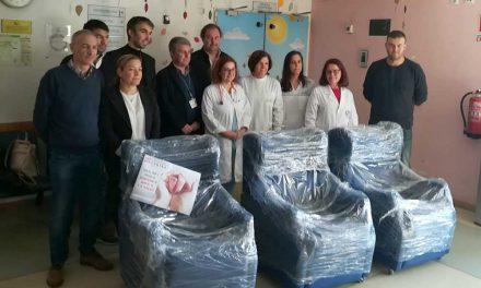 Associação Moinho de Vermoim entrega cadeirões à Neonatologia do Centro Hospitalar