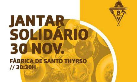 """Bombeiros """"Amarelos"""" promovem jantar solidário"""