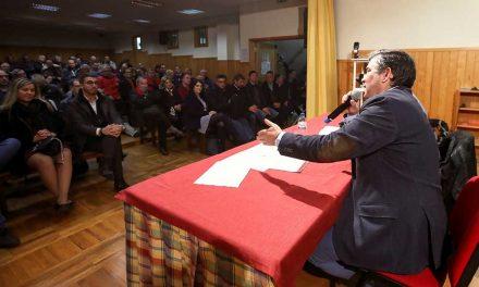 CANDIDATURA DE ALBERTO COSTA JÁ ESTÁ NO TERRENO PARA OUVIR MILITANTES E SIMPATIZANTES DO PS/SANTO TIRSO