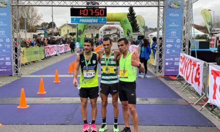 Video▶ José Moreira e Marisa Barros vencem Meia Maratona de Famalicão