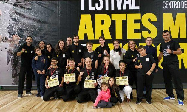 Associação de Burgães no Festival de Artes Marciais