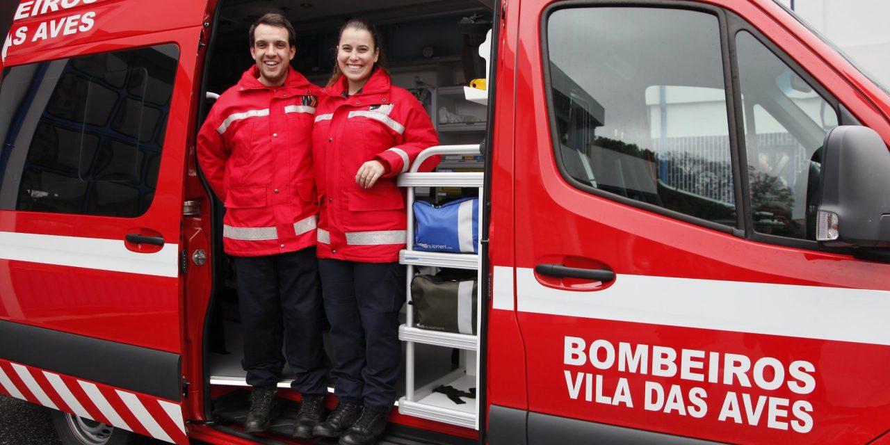 Menina nasceu em ambulância dos Bombeiros Voluntários de Vila das Aves