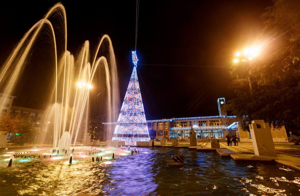 Pista de Gelo, árvore gigante e mercado de Natal animam Santo Tirso