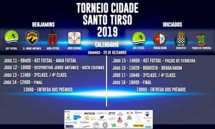 Torneio Cidade Santo Tirso coloca 250 atletas a jogar futsal