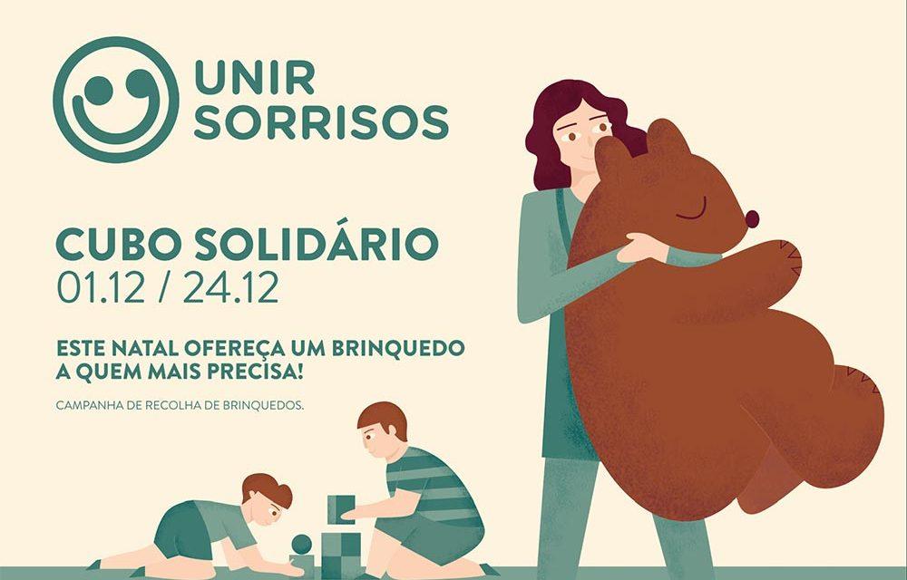 Campanha Unir Sorrisos, Cubo Solidário – Recolha de brinquedos