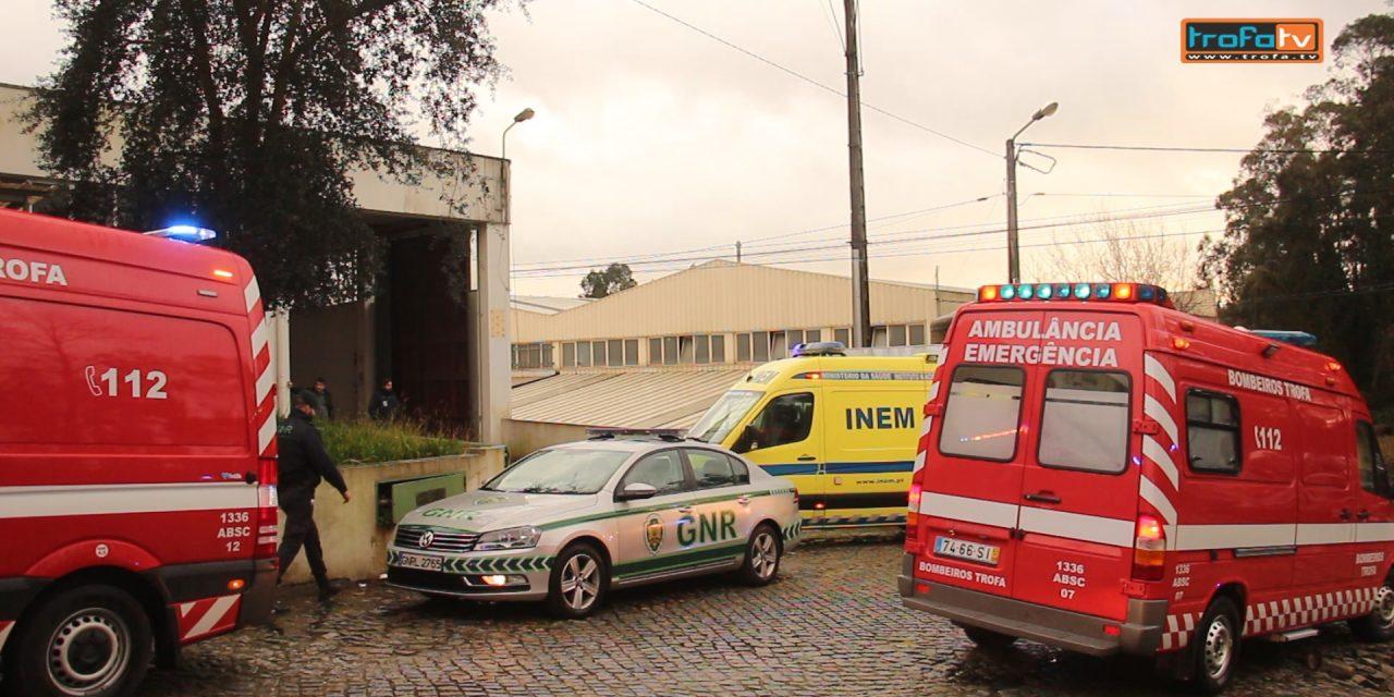 Video▶ 8 trabalhadores feridos em incêndio industrial