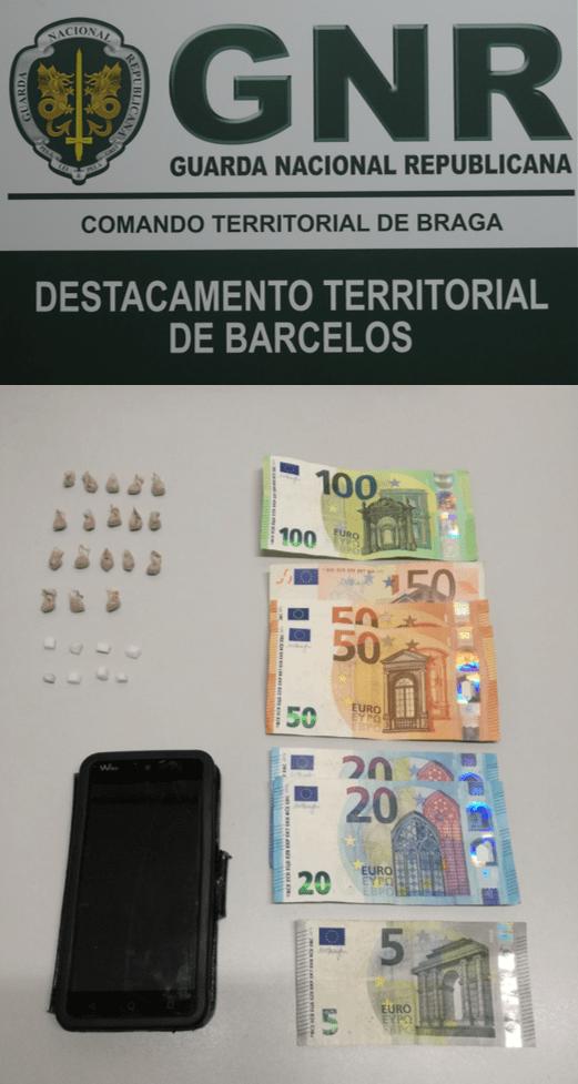 GNR Braga – Material