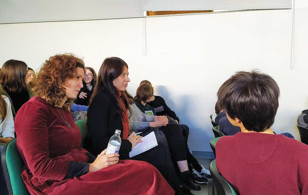 Parlamento dos Jovens na Escola da Ponte com deputada do PAN