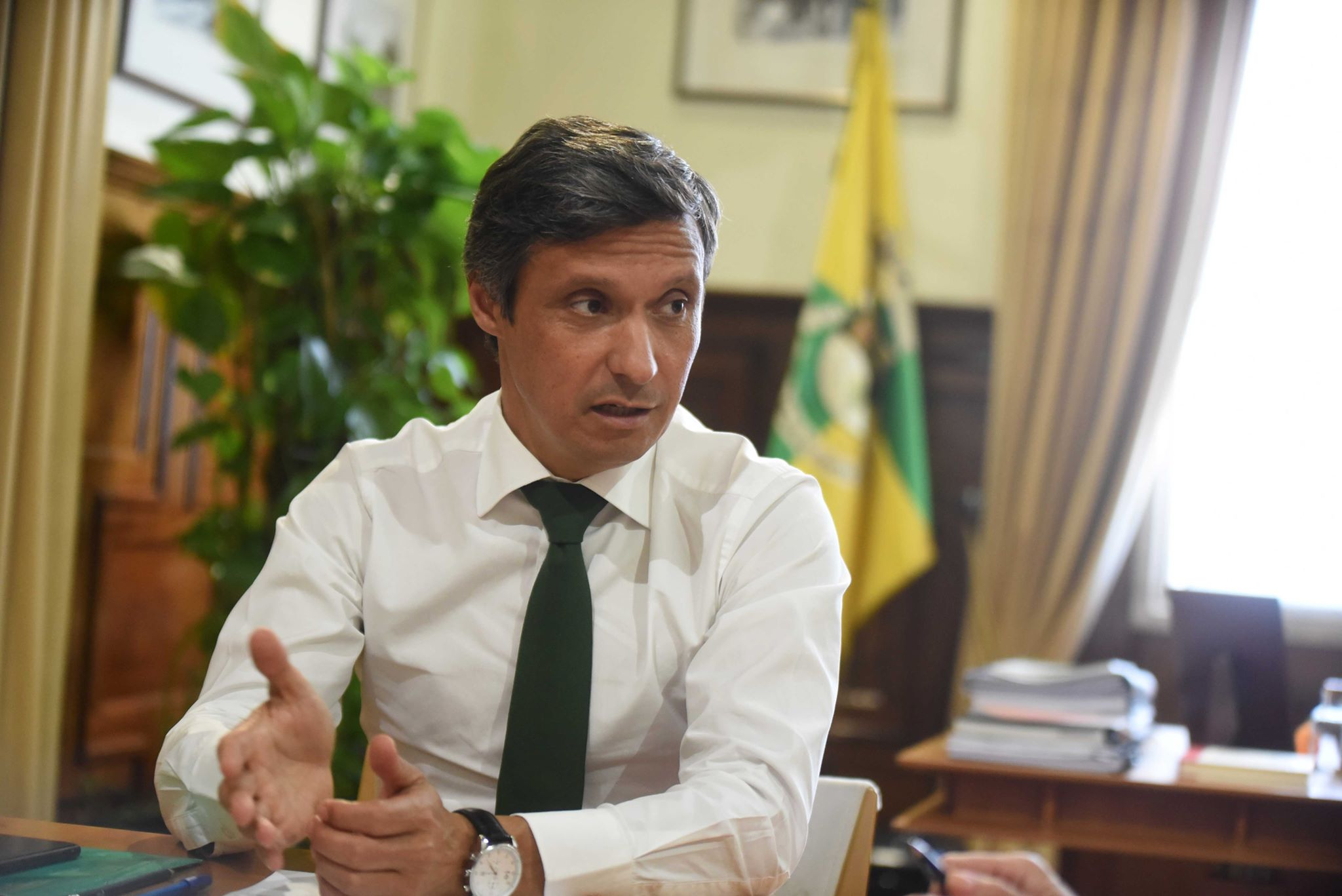 Paulo Cunha, presidente da Câmara Municipal